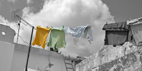 Sublimation lässt deine Wäsche auch im Winter trocknen - Futter